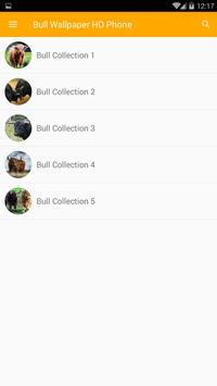 Bull Wallpaper HD Phone screenshot 2