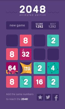 🌟 2048 Animated Puzzle Game apk screenshot