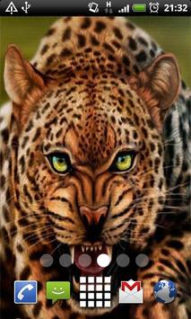 Leopard Live Wallpaper screenshot 2