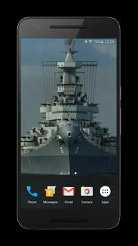 Battleship 3D Live Wallpaper poster