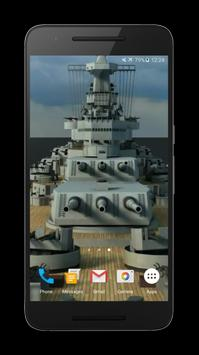 Battleship 3D Live Wallpaper apk screenshot