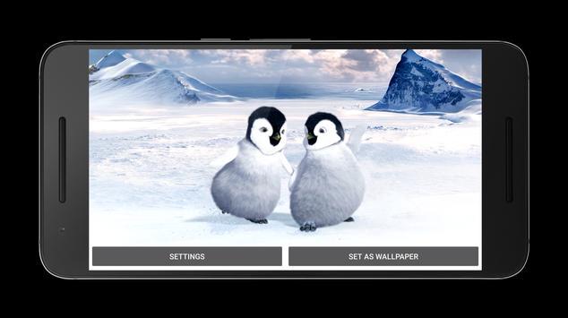 Penguins Dance Live Wallpaper apk screenshot