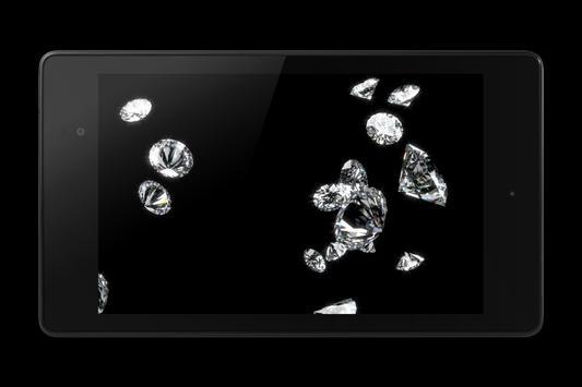Diamonds Video Live Wallpaper apk screenshot