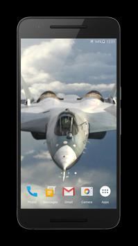 Jet Fighter 3D Live Wallpaper poster