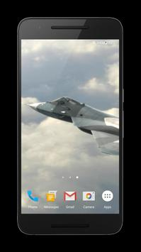Jet Fighter 3D Live Wallpaper apk screenshot