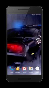 Police Car Transformer LWP screenshot 5