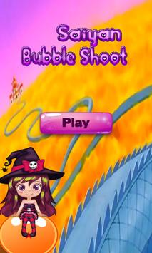 Saiyan Bubble Shooter poster