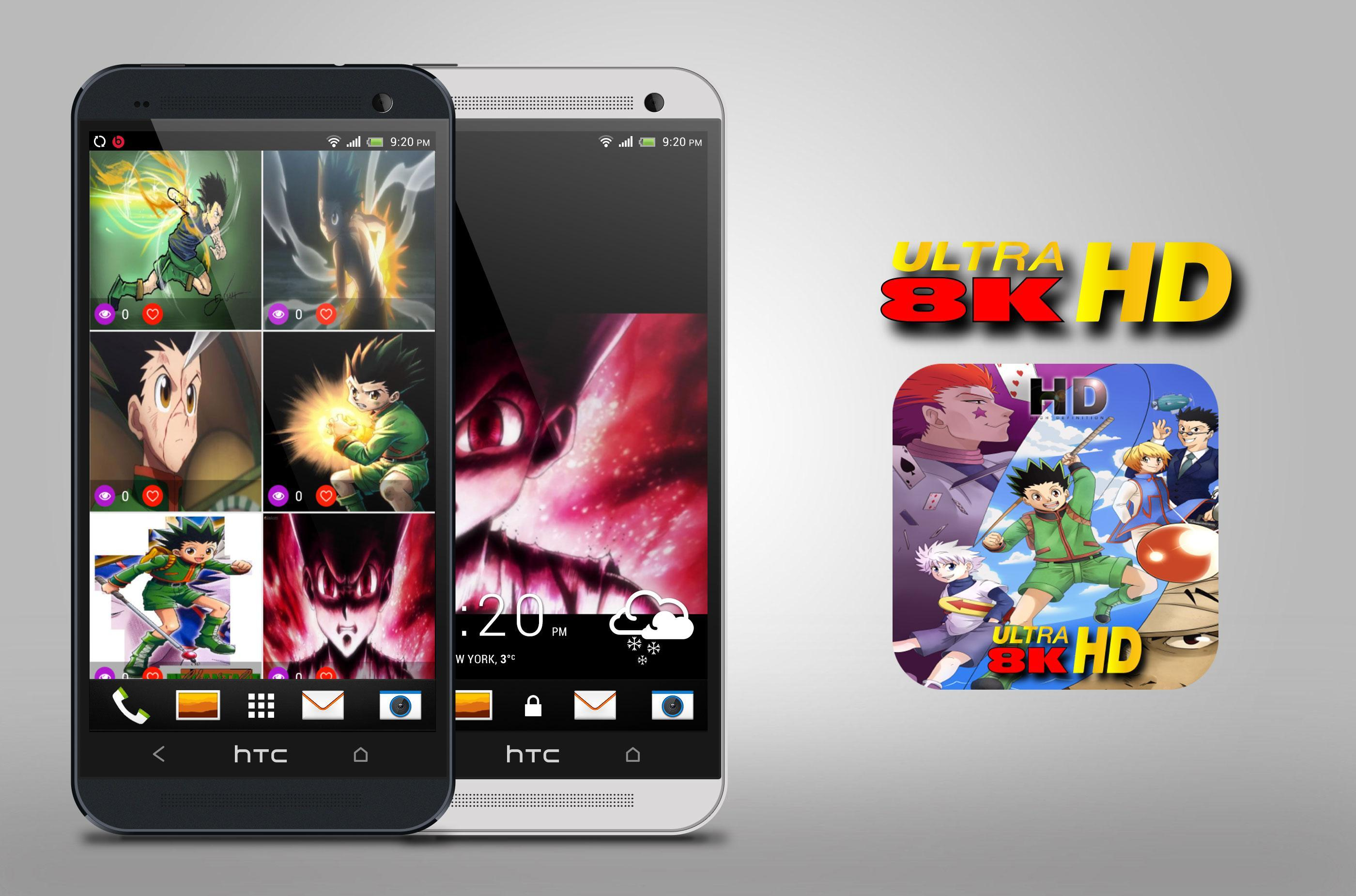 Hunter X Hunter Hd Wallpapers 4k For Android Apk Download