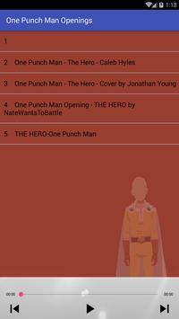 One Punch Man Openings screenshot 1