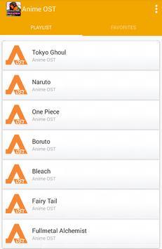 Anime OST screenshot 1
