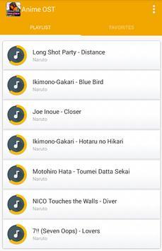 Anime OST screenshot 2