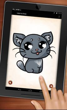 How to Draw Anime Animals apk screenshot