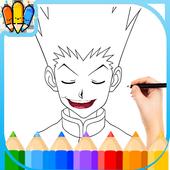 🇺🇸 Coloring book for Hunter x Hanter icon