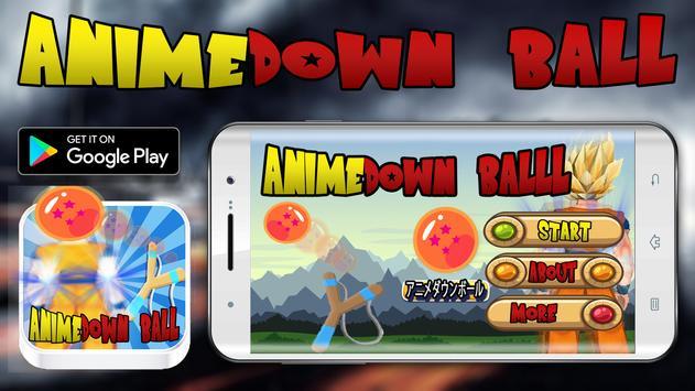 Anime Down ball poster