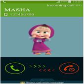 Fake Masha Call Bear Prank icon
