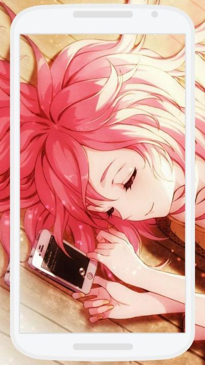 Anime Girl Lock Screen For Android Apk Download