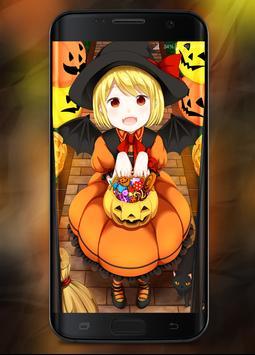 Anime Halloween Wallpaper poster