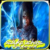 Sasuke Uchiha HD Keyboard theme icon
