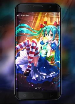 Hatsune Miku (Live Wallpaper) capture d'écran 2