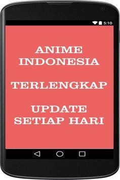Anime Indonesia AnimeIndo Tv Poster Apk Screenshot