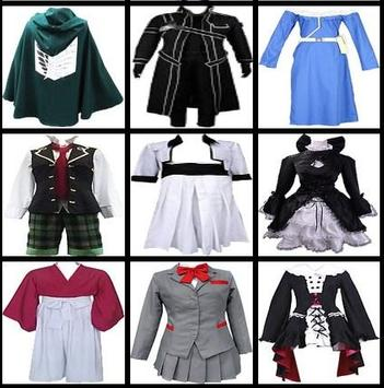 anime cosplay apk screenshot