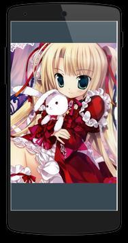 Anime Girl HD Wallpaper apk screenshot