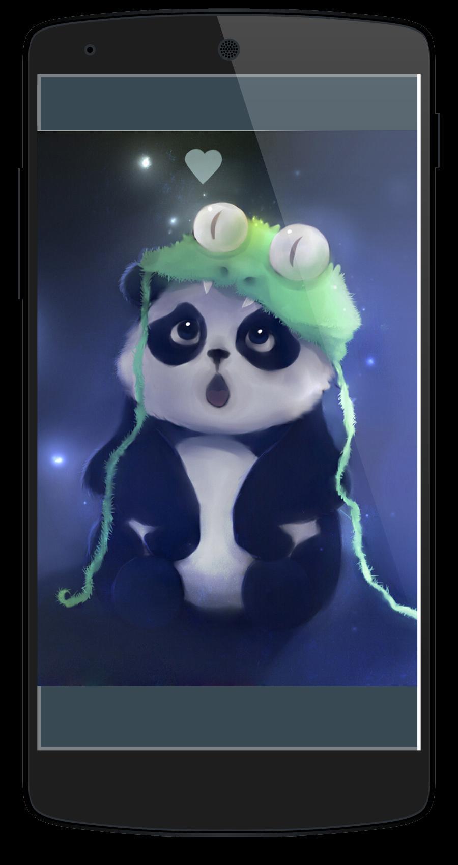 Cute Anime Panda Wallpaper Für Android Apk Herunterladen