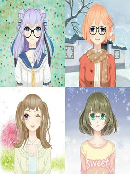 Anime Avatar Girls screenshot 2