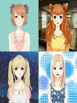 Anime Avatar Girls screenshot 5