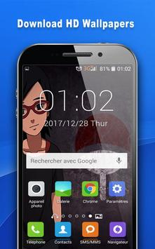 Anime Girls Beautiful Manga Wallpapers HD apk screenshot