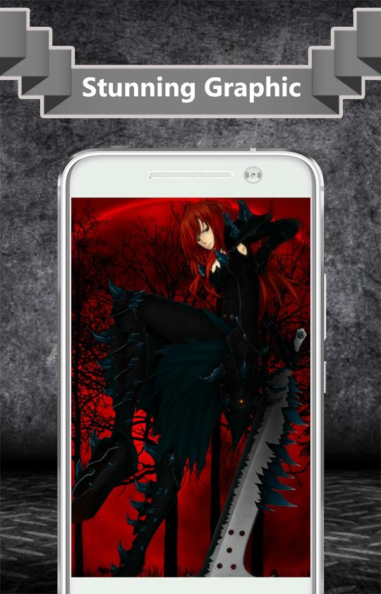 erza fanart cg roblox Erza Scarlet Wallpaper For Android Apk Download