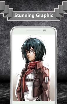 Mikasa Ackerman Wallpaper screenshot 1