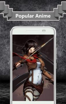 Mikasa Ackerman Wallpaper apk screenshot