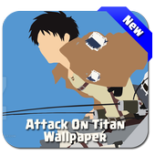 Attack Anime Titan Wallpaper icon
