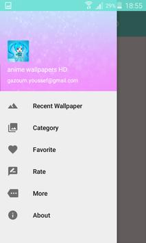 Anime wallpapers HD apk screenshot