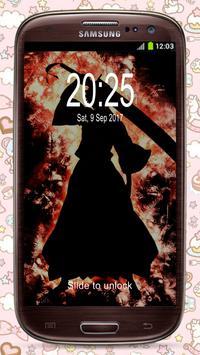 Ichigo Kurosaki (黒崎 一護) Fan Anime Lock Screen poster