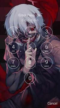 Fan Anime Lock Screen Wallpaper Of Ken Kaneki Screenshot 4