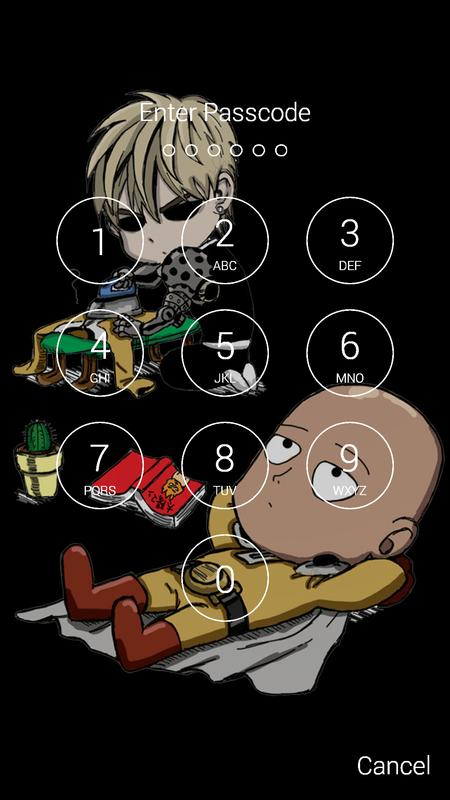 Saitama Fan Anime Lock Screen Wallpaper Screenshot 5