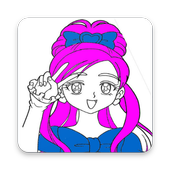 Anime Manga Coloring Book For Adult and Kids icon