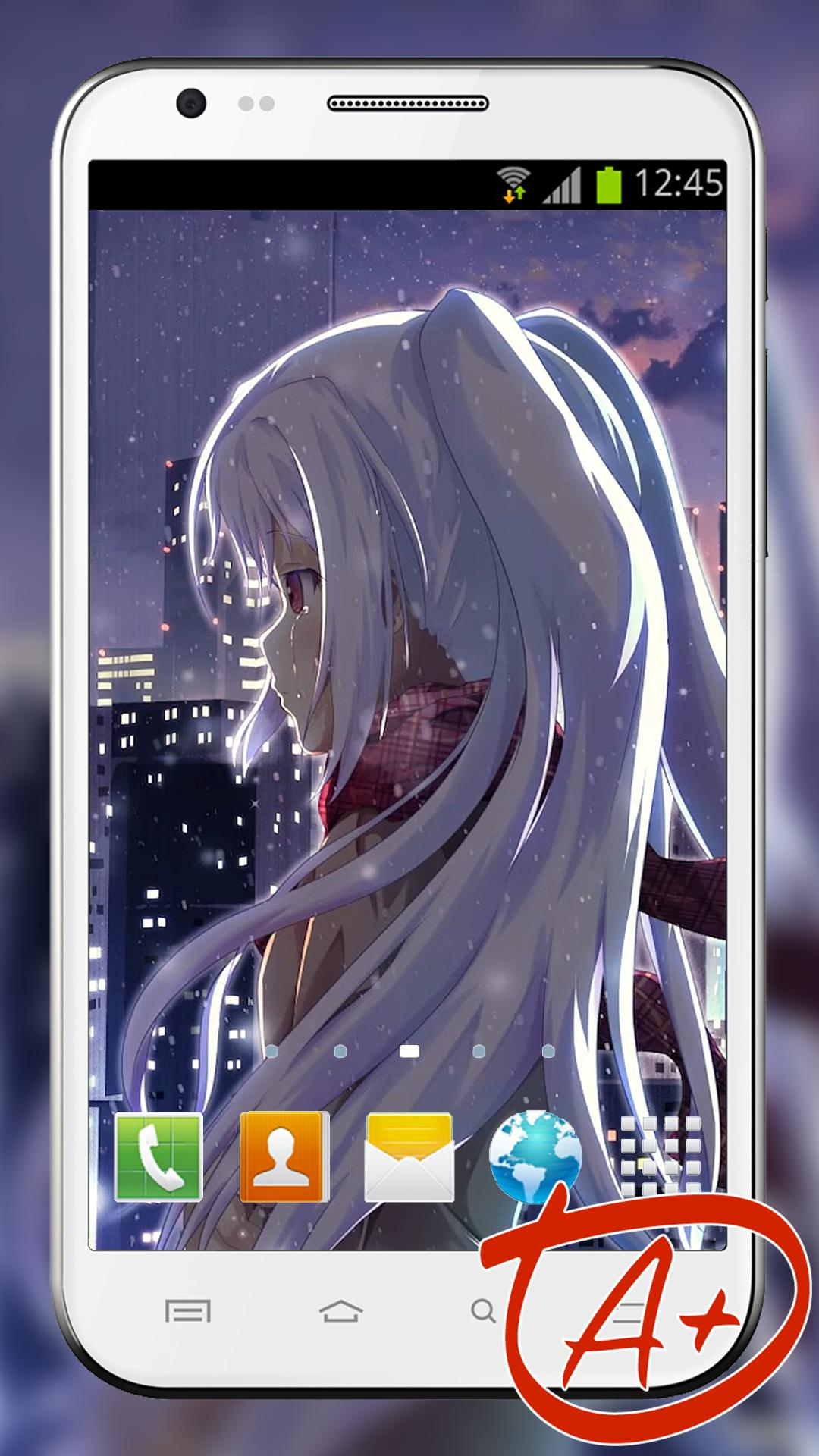 Anime Live Wallpaper of Isla (アイラ Aira) for Android - APK ...