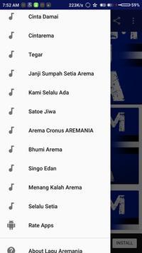 Lagu Aremania Full apk screenshot