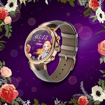 Star Girl Watch Faces poster