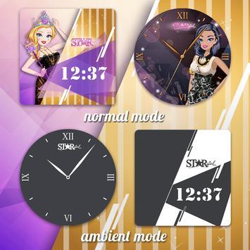 Star Girl Watch Faces screenshot 9