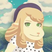 Hipster Sheep icon