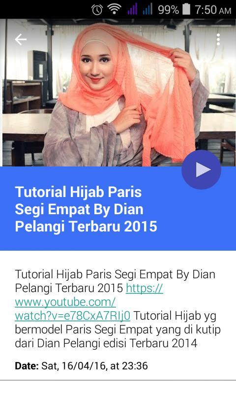 Hijab Tutorial Dian Pelangi For Android Apk Download