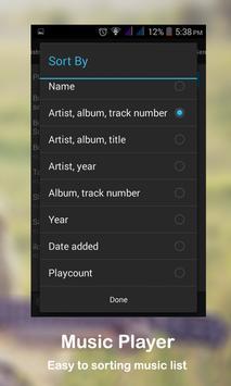 Audio Music Player Pro apk screenshot