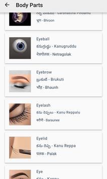 English to Telugu, Hindi screenshot 2