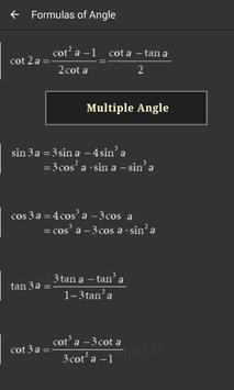 Math Formulas screenshot 1