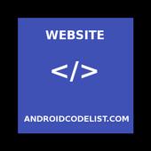 Website Androidcodelist Com icon