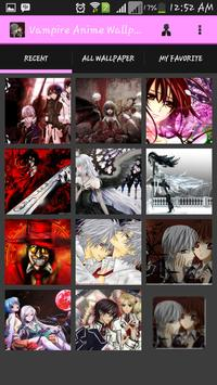 Vampire Anime Wallpaper apk screenshot